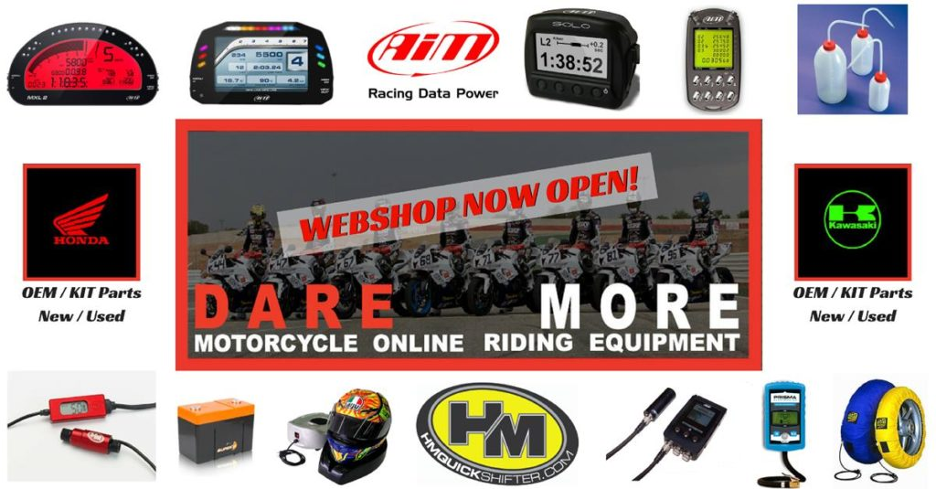 Dare more shop - webshop open
