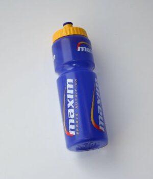 Energy drink bottle plastic blue 750ml