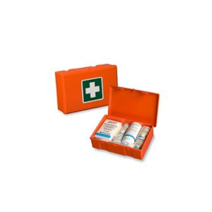 Medical Box universal including wall mount orange
