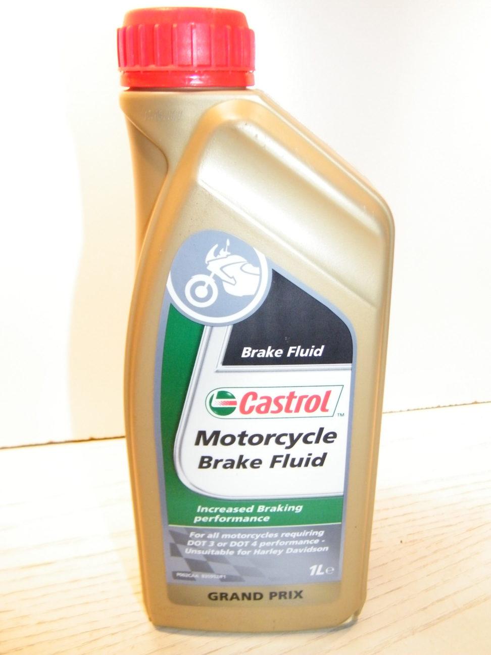 Castrol motorcycle brake fluid dot 4