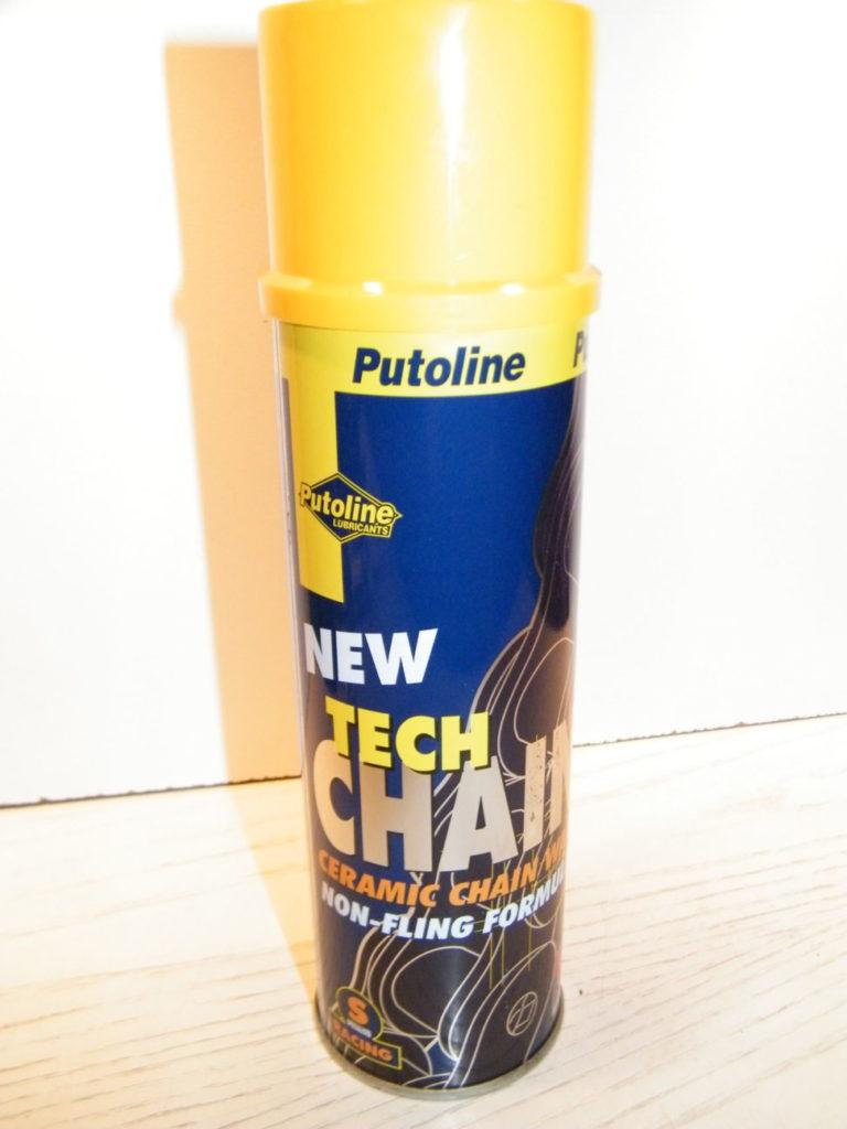 Putoline high tech ceramic chain grease spray white