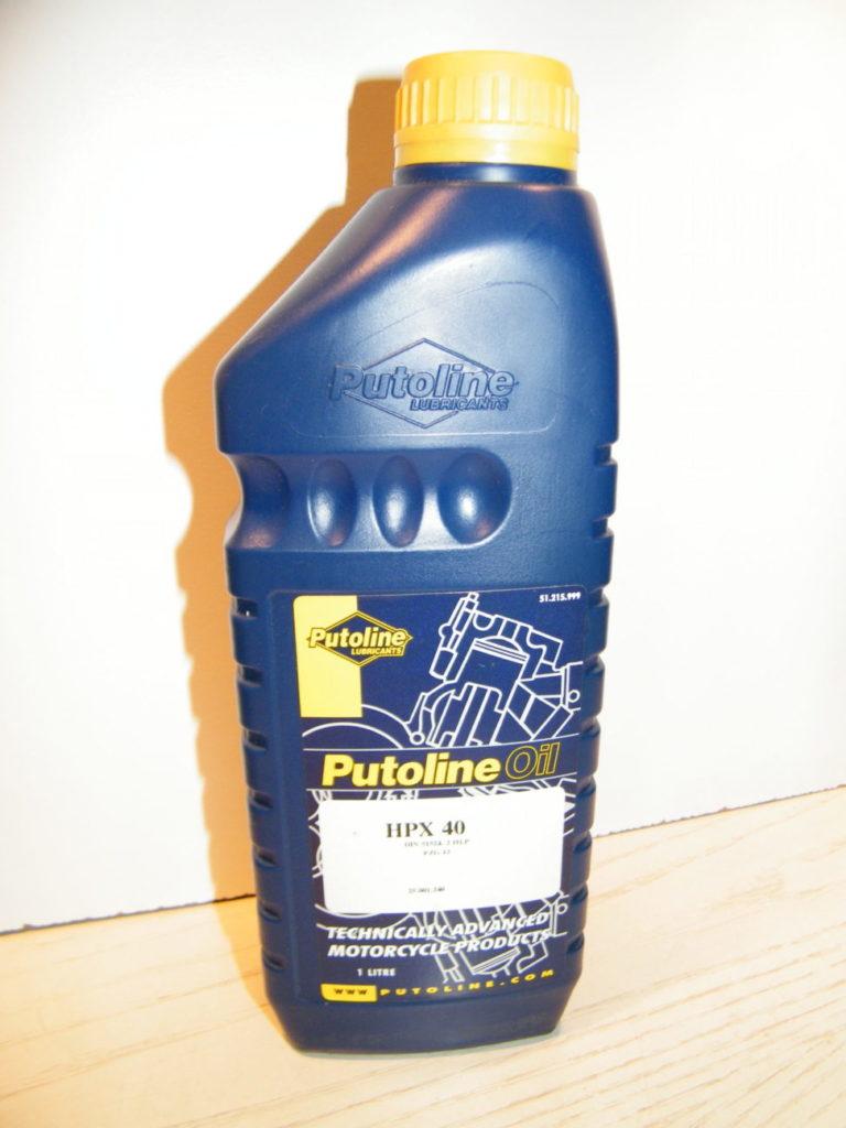 Putoline HPX racing suspension oil SAE40