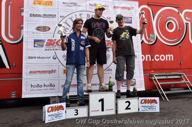 Thorsten podium